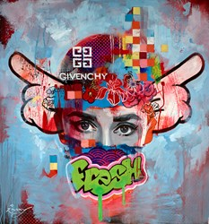 Fresh by Zinsky - Original Painting on Stretched Canvas sized 39x41 inches. Available from Whitewall Galleries
